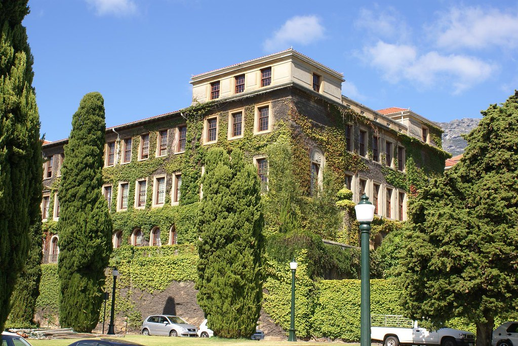 UCT Cape Town Typical Ivy Covered Buildings University O