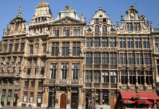 Guild halls, Grand Place, Brussels
