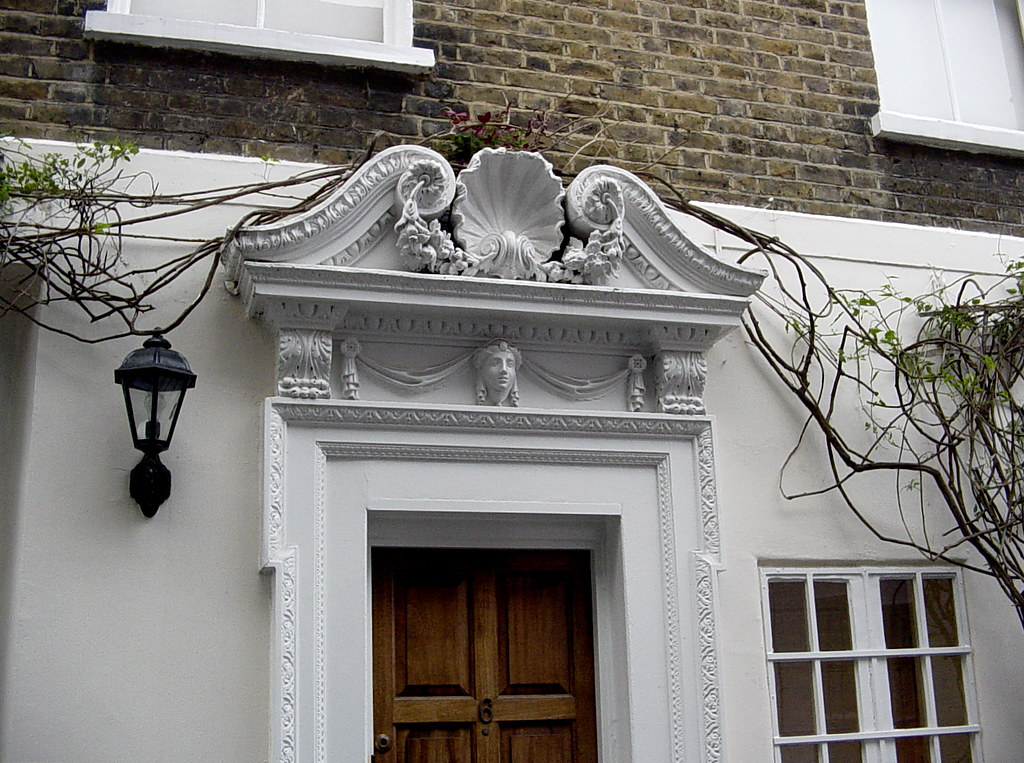 ... Chelsea Door Pediment With Shell | By Londonconstant
