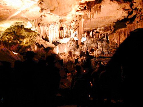 Ceiling of Crystal Cave