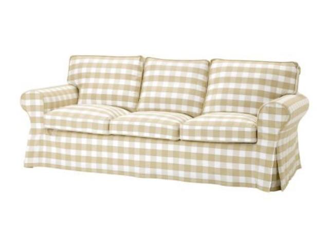 Sensational Ikea Ektorp 3 Seat Sofa Slipcover Blekinge White Ocoug Best Dining Table And Chair Ideas Images Ocougorg