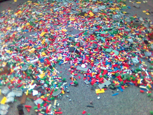 Lego pit | by Thinkcage
