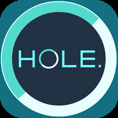 HOLE. - simple puzzle game - Android & iOS apps - Free