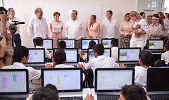 El gobernador Javier Duarte inauguró la Escuela Primaria Juan Maldonado Pereda 20