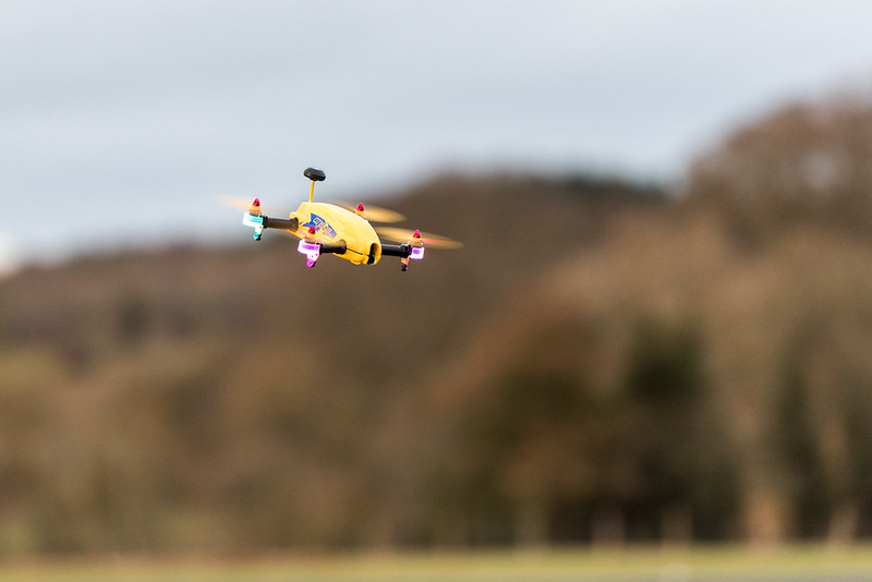 Phil flying my Align MR25.
