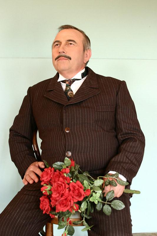 2003 Domača gledališka predstava ŽENITEV - foto Uroš Zagožen