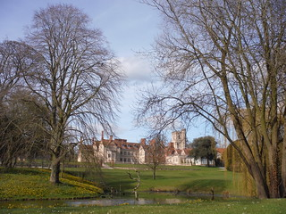 Dinton Hall, from footpath to the SE | by thomasgrabow