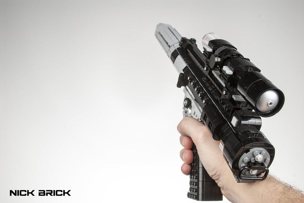 STAR WARS LEGO dh-17 Blaster