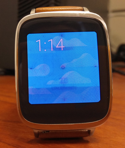 Asus Zen Watch - AMOLED imprint issue | by Murphy Chen