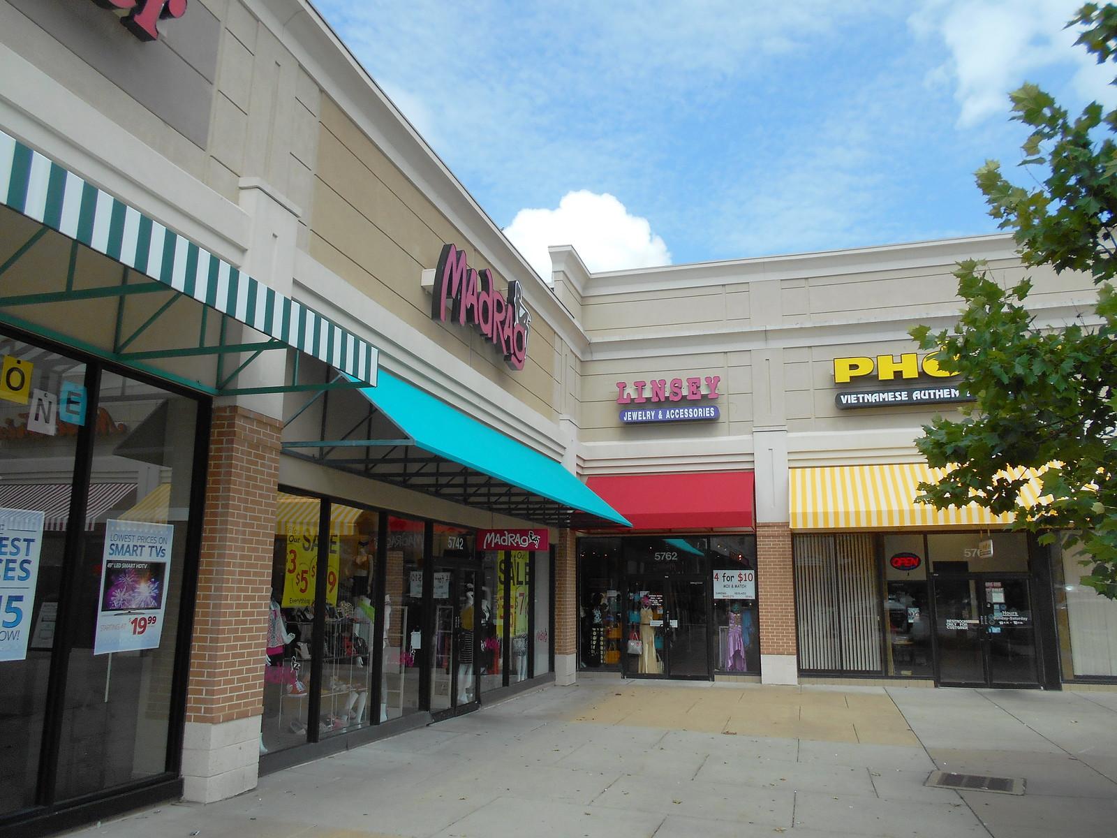 Shopping Center Awnings