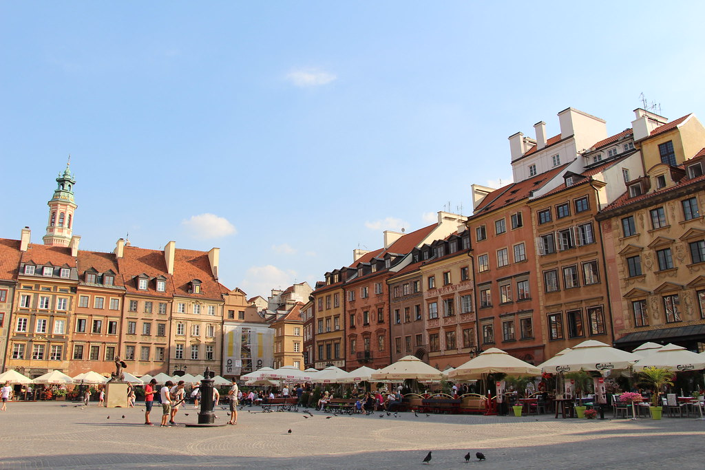 Warszawa - Rynek Starego Miasta | Stare Miasto | Rynek Stare… | Flickr