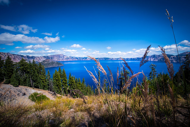 Crater Lake view - Oregon