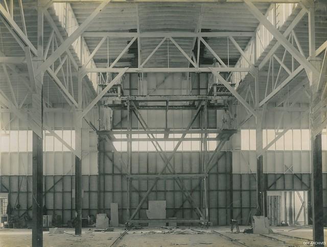 Construction of the New Zealand & South Seas Exhibition, Logan Park 1924-1925
