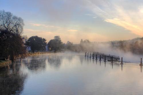 thames marlow bridge weir sunrise mist reflections river morning elitegalleryaoi bestcapturesaoi