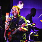 Wed, 30/03/2016 - 6:51pm - The Glasgow-based Frightened Rabbit (Scott Hutchison, Grant Hutchison, Billy Kennedy, Andy Monaghan, and Simon Liddell) perform for WFUV Members at Rough Trade NYC in Brooklyn, 3/29/16. Photos by Gus Philippas/WFUV