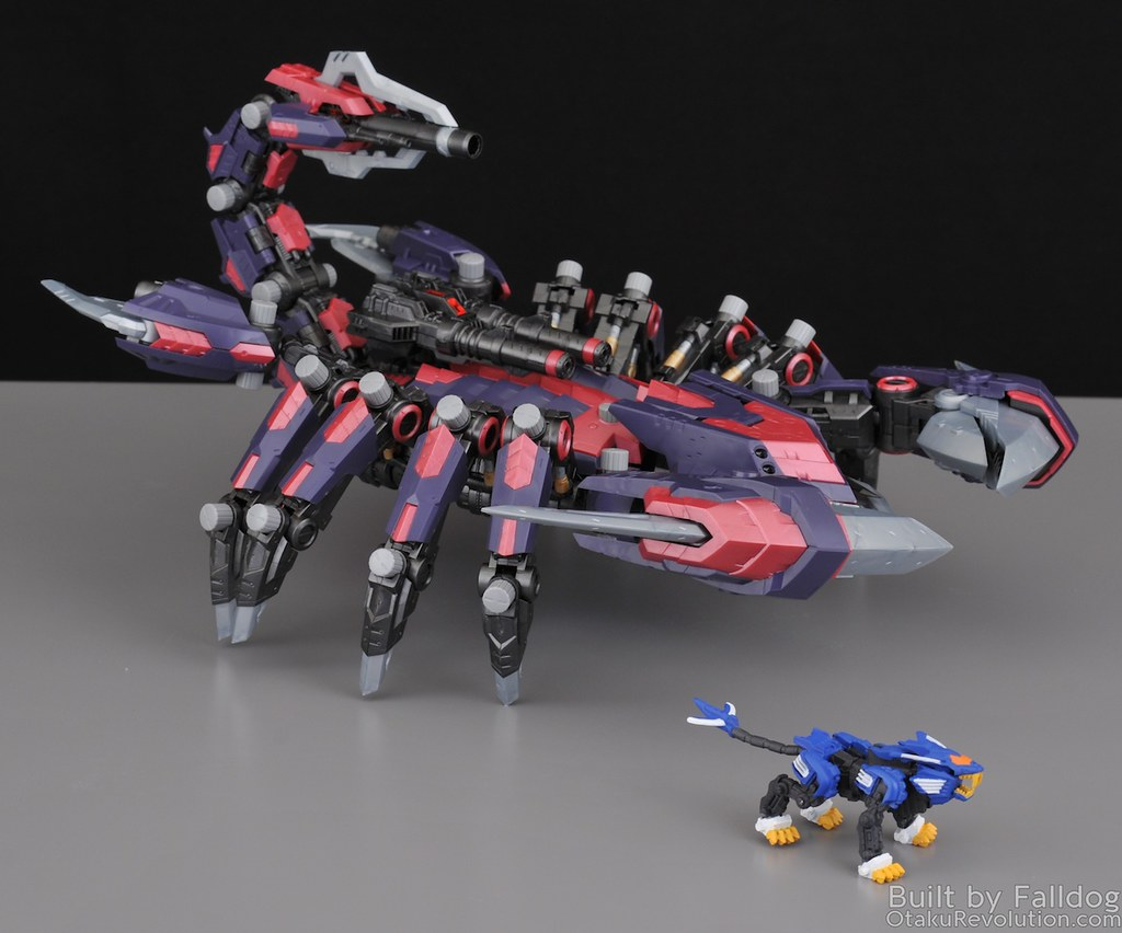 HMM Zoids - Death Stinger Review 6