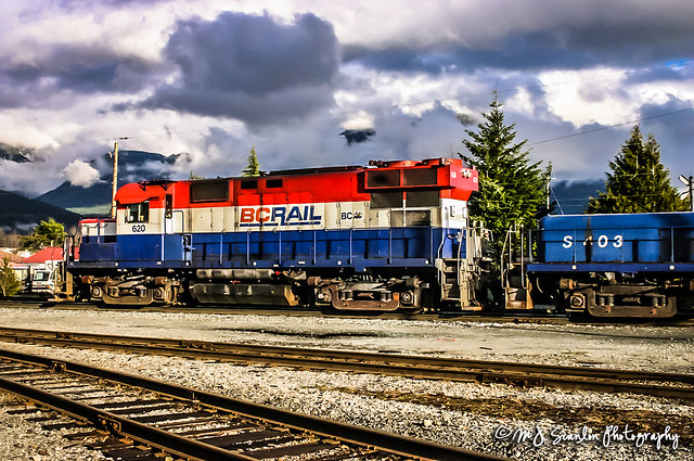 BCR 620 | MLW RS-18C | BCR Squamish Yard