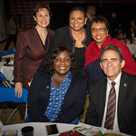 Pictured from left to right from the top - Grand Terrace Mayor Darcy McNaboe, Rialto Mayor Deborah Robertson, Assembly Member Cheryl Brown, Fontana Mayor Acquanetta Warren, Sa