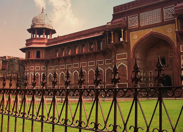 INDIEN, Agra - Rotes Fort, Jahangir-Palast, 13397/6295