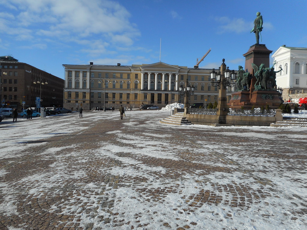 At Helsinki Senate Square