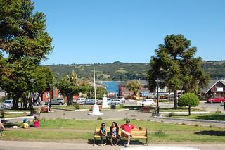Plaza in Dalcahue, Chiloé, Chile | by blueskylimit