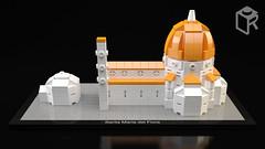 LEGO Architecture concept of Santa Maria del Fiore by legorevival