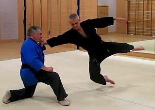 Tony Hughes (blue) and Simon Ford-Powell | by Masa Sakano