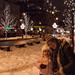 Sprint through the winter Warsaw