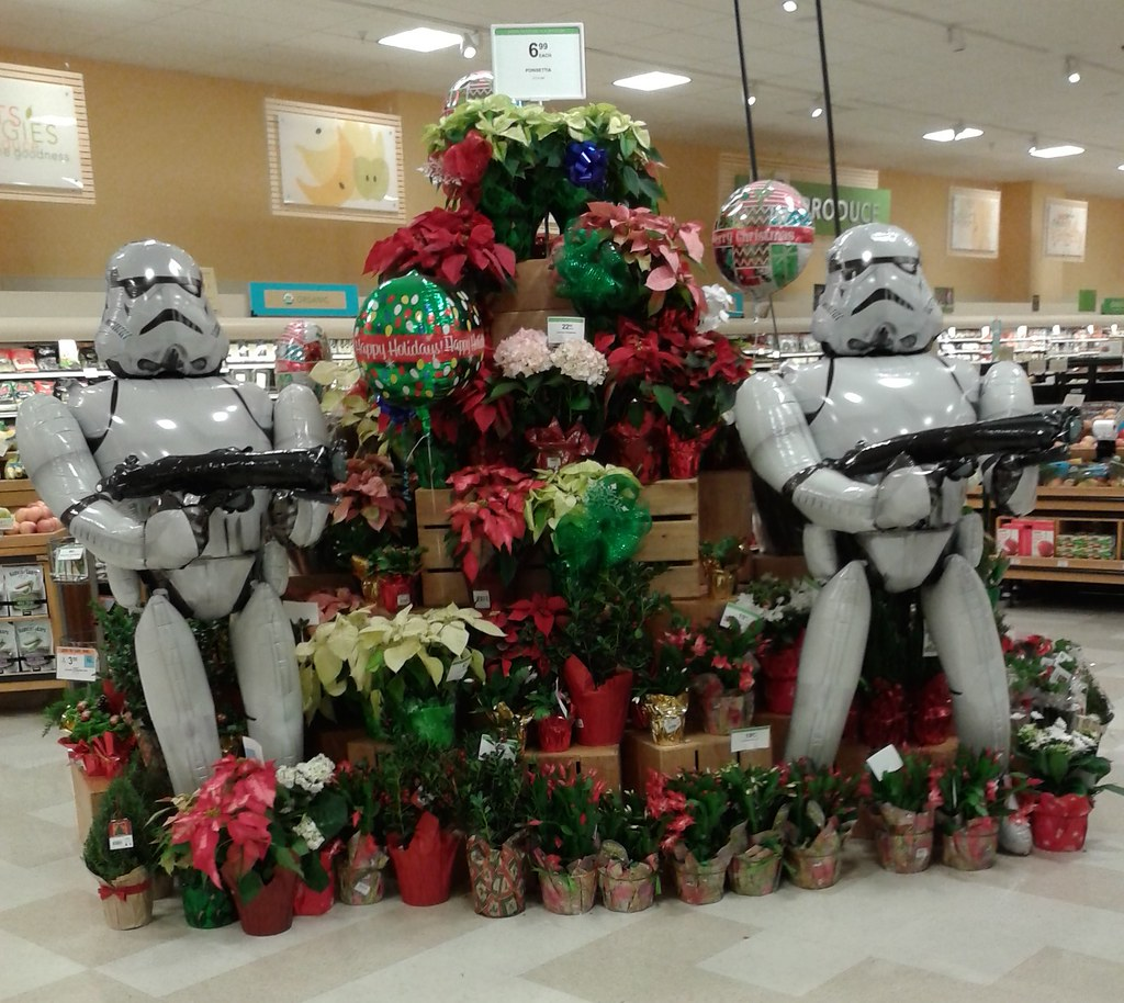 Albertsons Christmas Hours.May The Force Be With You This Christmas The Stormtroopers