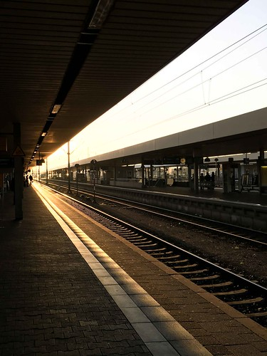 sunrise germany trainstation mannheim