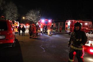 TFS 2nd alarm Townhouse Fire 88 Cassandra Blvd.