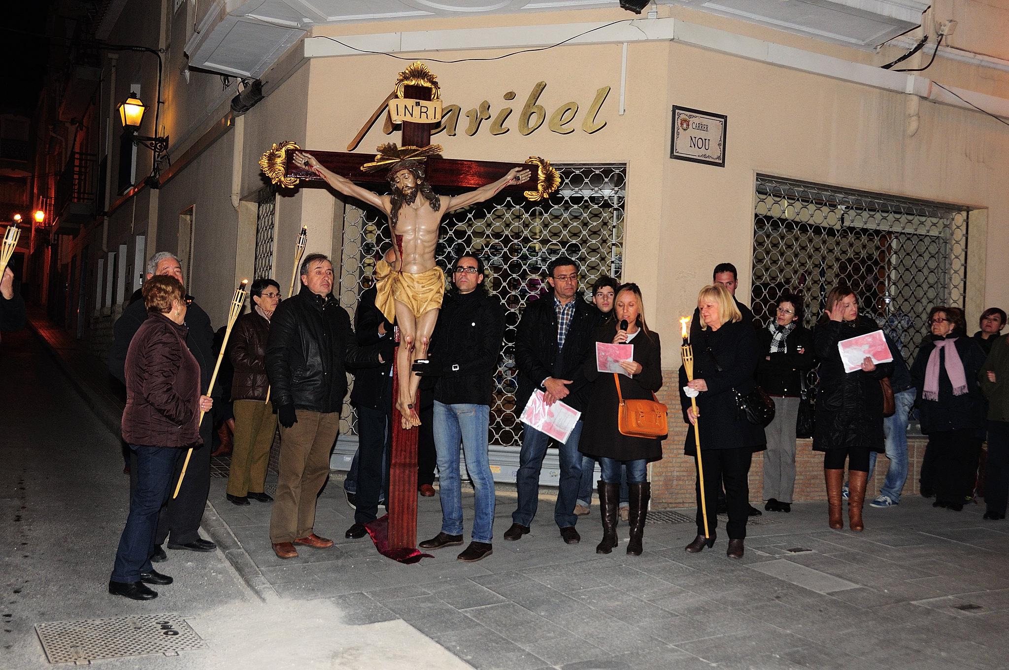 (2013-03-22) - IV Vía Crucis nocturno - Abraham de la Rosa (05)