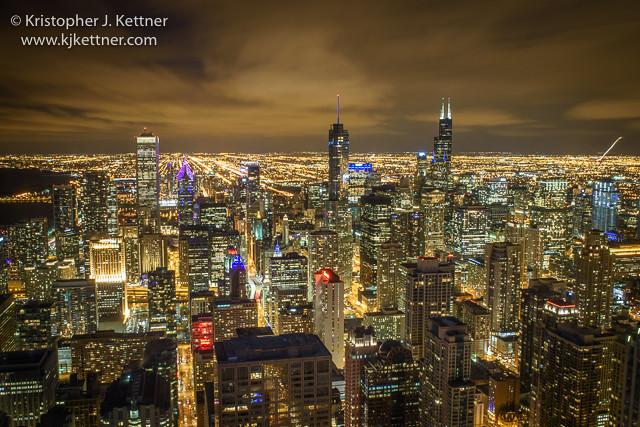 Golden Glow of Chicago