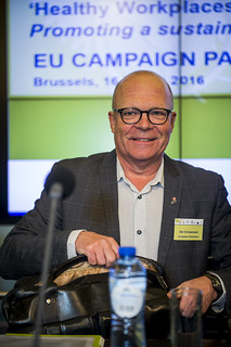 16/03/2016 - 11:28 - Ole Christensen, Member of the European Parliament and rapporteur on the EU Strategic framework on safety and health at work 2014-2020.