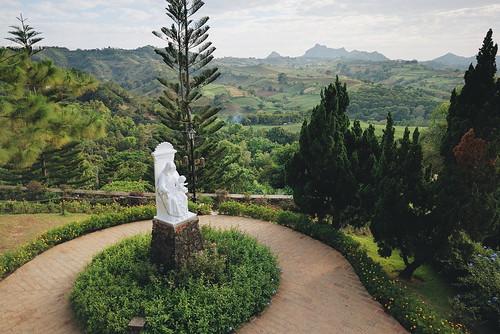 nature statue view philippines tagaytay caleruega
