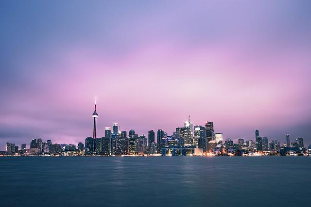 Downtown Toronto Sunrise