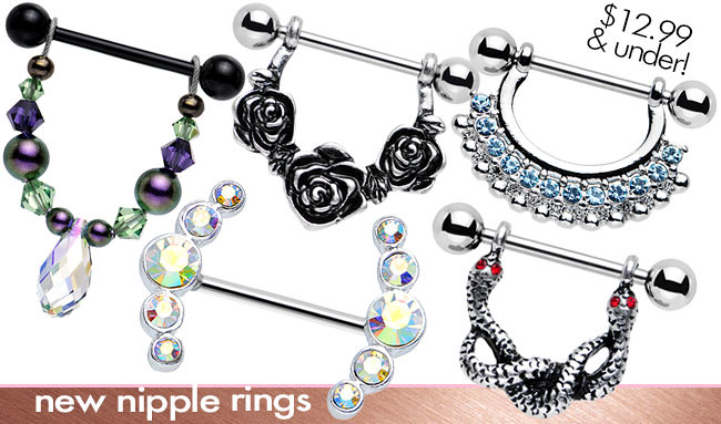 Body Candy Body Jewelry Nipple Rings Body Candy Body Jewelry Flickr