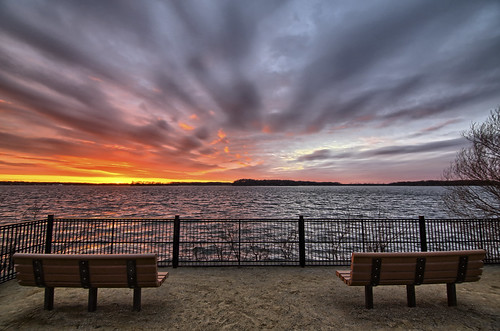 sunset lake 3 cold water minnesota clouds canon wonderful bench spring sand colorful mark iii sunsets 5d mn minnetonka inspiring sunsettime