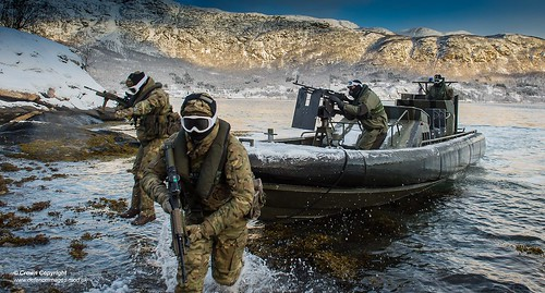 539 Assault Squadron performing a beach assault | by Defence Images