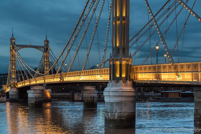 THE ALBERT BRIDGE LONDON.
