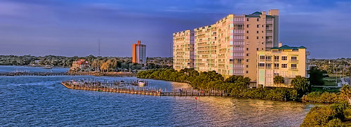building skyline downtown cityscape highrise residential condominium indianriver sunshinestate brevardcounty