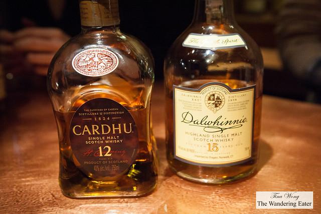 Cardhu 12-Year Single Malt Scotch Whisky & Dalwhinnie 15-Year Highland Single Malt Scotch Whiskey