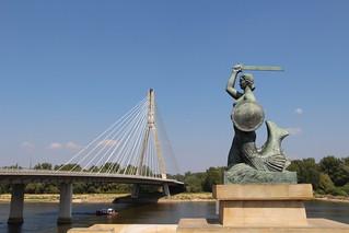 Warszawa - Warszawska Syrenka & Most Świętokrzyski