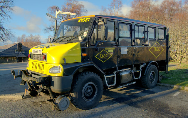 Vehicle For Road Use And Can Run On Railway Lines In Scotland
