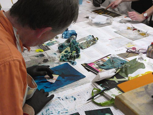 Intro to Collagraph Printmaking - 6 week course | by ArtisOn Masham
