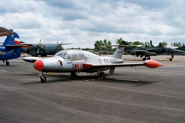MS-760 Paris 57/316-DJ ENOS-316 FrAF/FAF. Base Aerienne Tours-St.Symphorien (Open-House) 28-05-2000.