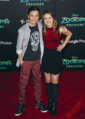 Hayden Byerly at the Premiere of Disney's Zootopia - CN1A4302