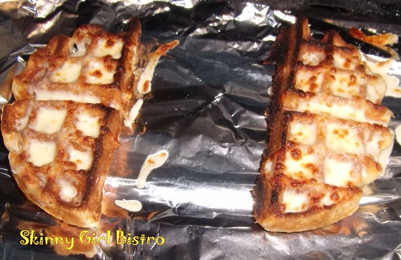 Photo: Waffles under the broiler