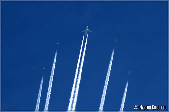 Airbus A330 MRTT & Eurofighter Typhoons