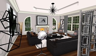 Swank Feb 2016-Cosmo LR Set | by Hidden Gems in Second Life (Interior Designer)